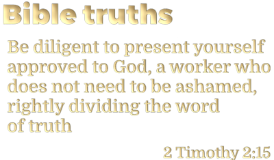 Bible Truths